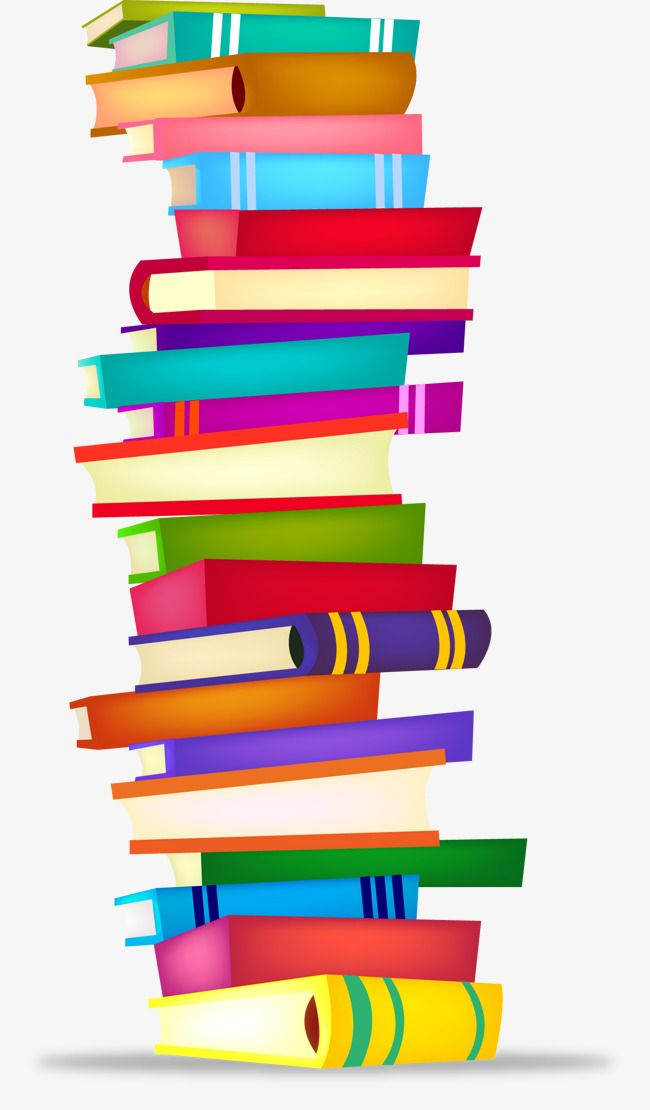 Vector Books Books Pile Of Books Vector Free Download PNG Transparent Clipart Image and PSD File for Free Download Book clip art Stack of books Clip art