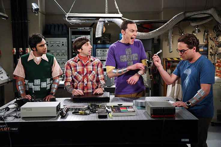 The big bang theory S8 E5 Le Conditionnement opérant