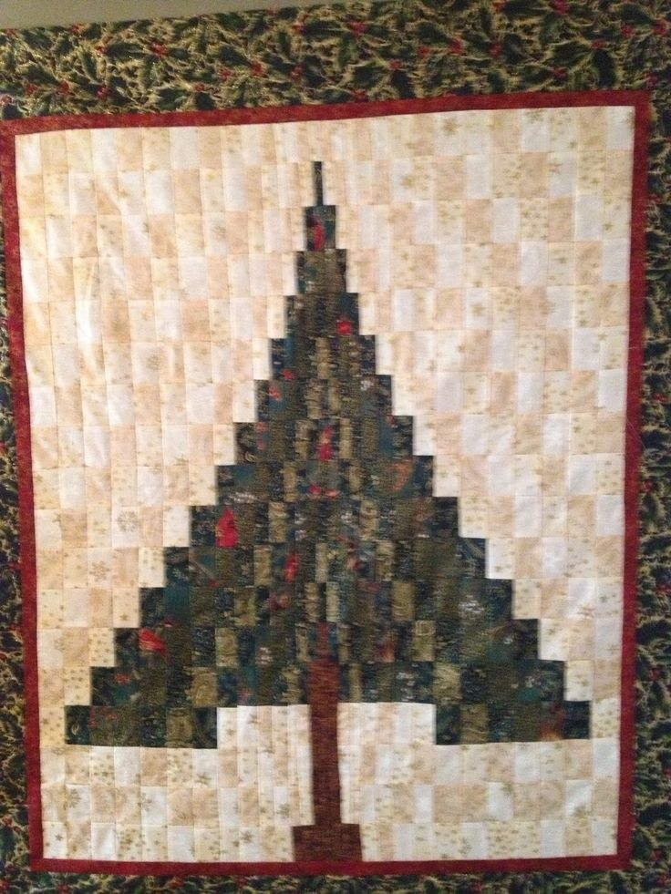 Christmas Tree Bargello Quilt Bargello Pinterest