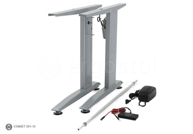 Conset 501-15 опора на двух ножках с электроприводом для стола