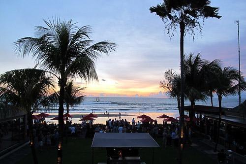 Sunset Cocktails at Ku De Ta, Bali, Indonesia