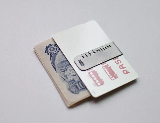 VARGO Titanium Money Clip / ヴァーゴ チタニウム マネークリップ - MoonlightGear - ムーンライトギア