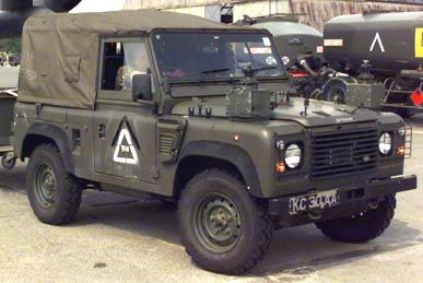 Land Rover Defender in Skopje, Macedonia, August 2001, vehicle, cool wheels, photo