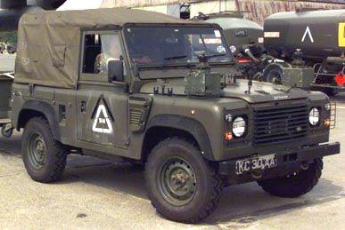 Land Rover Defender in Skopje, Macedonia, August 2001, vehicle, cool wheels, photo