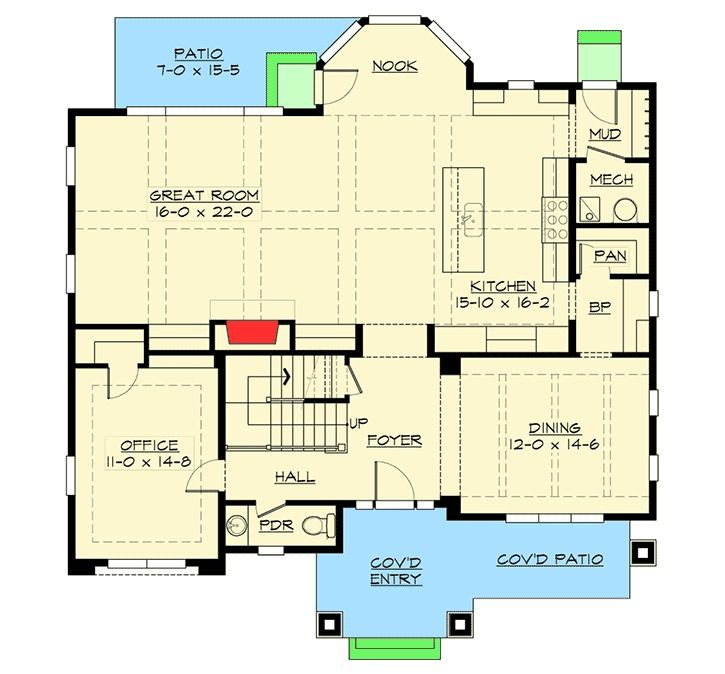 Plan 23663jd 6 Bedroom Beauty With Third Floor Game Room: Best 25+ Rectangle House Plans Ideas On Pinterest