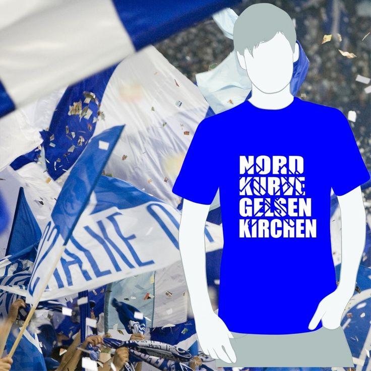 order here: http://www.world-of-football.de/Deutsche-Clubs/Gelsenkirchen/T-Shirt/T-Shirt-Gelsenkirchen-Nordkurve.html  Fussball, Fanartikel, T-Shirt, Ultras, Schalke 04, Gelsenkirchen