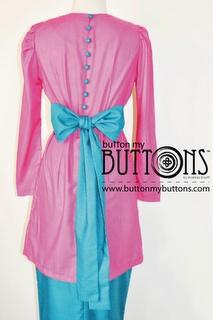 Modernized Baju Kurung :3