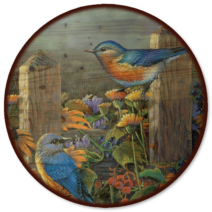 Linda's Bluebirds