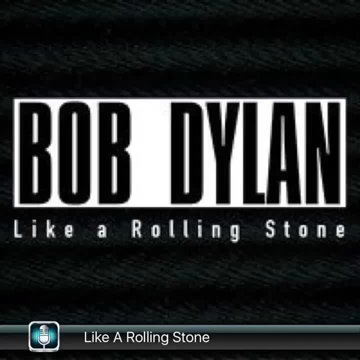 like a rolling stone Check out like a rolling stone by bob dylan on amazon music stream ad-free or purchase cd's and mp3s now on amazoncom.