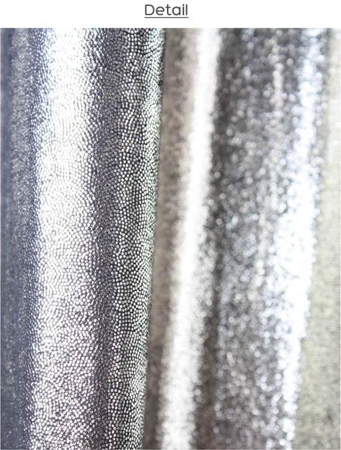 Curtain Panels White Sparkle