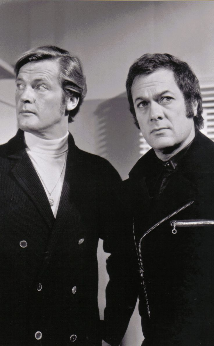 """""""Amicalement vôtre"""" - Tony Curtis & Roger Moore - 1971"""