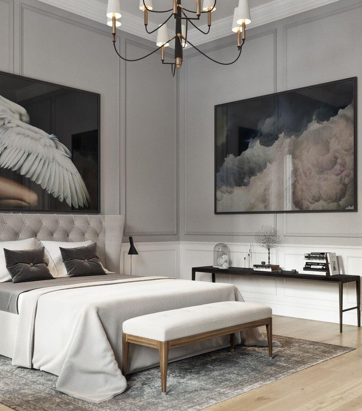 Bedroom in soft grays 1521 best Bedrooms