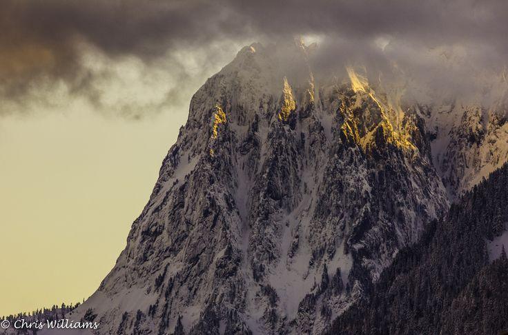 Mt. Index at Sunset