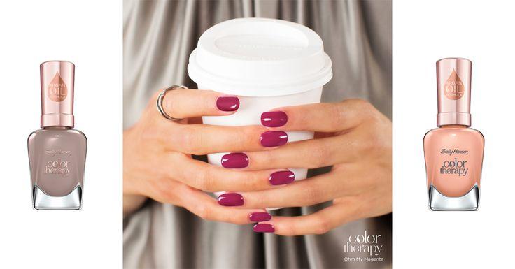 Nagellak mag dan wel mooi zijn, erg bevorderend voor de gezondheid van je nagels is de chemische kleurmix niet. Het Amerikaanse nagellakmerk Sally Hansen w