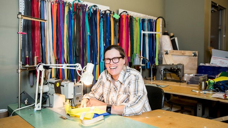 Nancy Ford's Repair Lair in Minneapolis, Minnesota, has repaired thousands of products, giving everything from bike shoes to sleeping bags a new life.