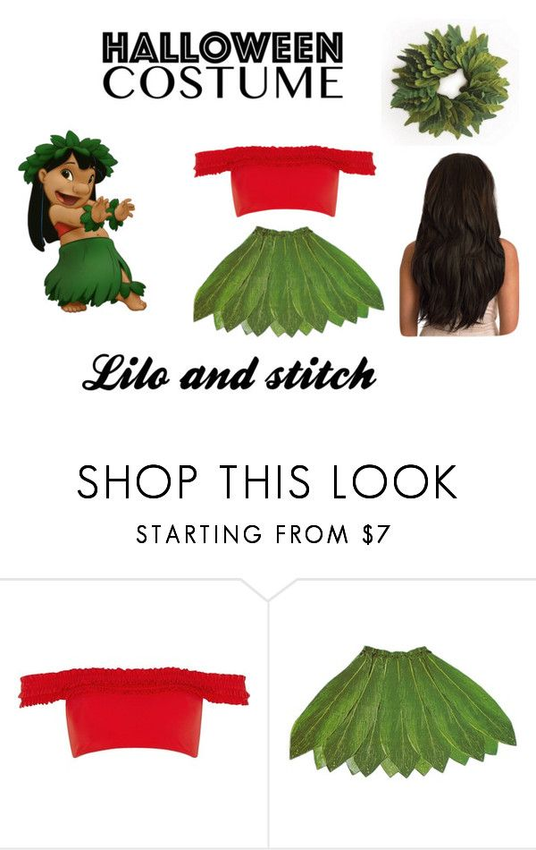 """""""lilo and stitch costume"""" by caidrae05 on Polyvore featuring Disney and River Island"""