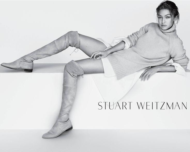 ☆ Gigi Hadid | Photography by Mario Testino | For Stuart Weitzman Campaign | Spring 2016 ☆