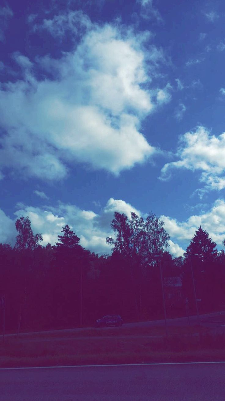 Finland is a beautiful country - the sky is also beautiful hehe :)