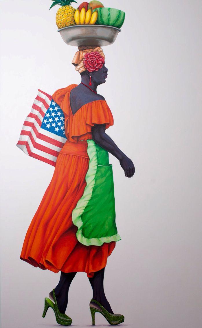 Serie inspirada en las mujeres del Caribe Colombiano