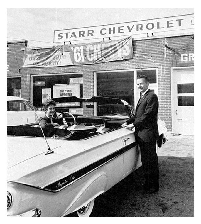 Be a Starr… come on down for your new Impala convertible