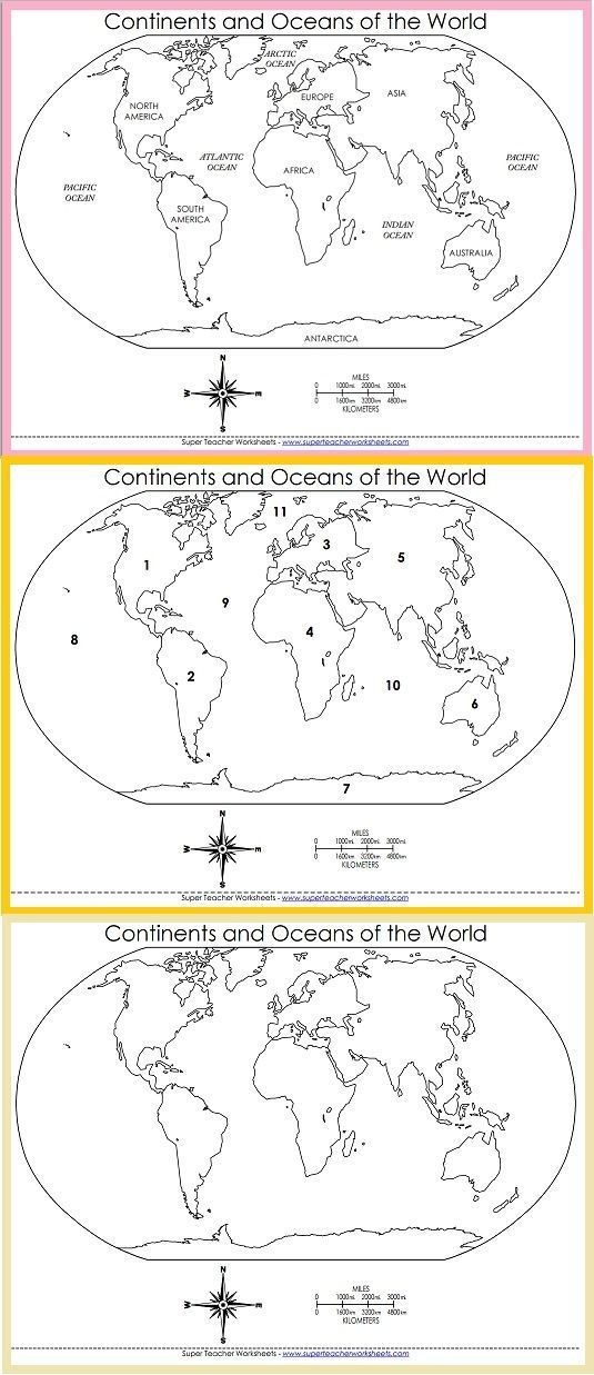 Choose the world map that meets your needs!