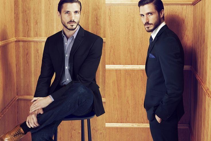 BHS Autumn/Winter 2014 Men's Lookbook | FashionBeans.com