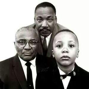 Martin Luther King Sr., Jr., & III