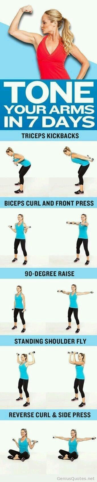 Excercise arms..