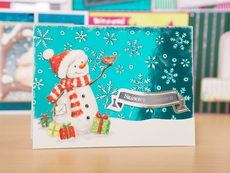 Make your Christmas cards shine with the Fifty Shades of Mirri from @hunkydorycrafts! / cardmaking / papercraft / craft / scrapbooking