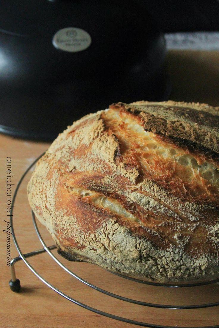 Profumi in cucina: Pane senza impasto di Jim Lahey...il pane che canta.