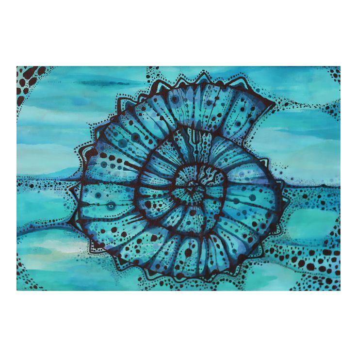 Kąpiel w błękicie  | Rysunek | 24 x 30 cm