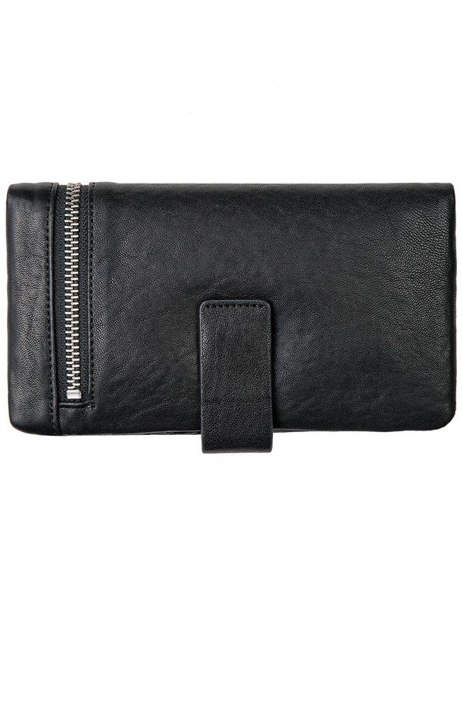 Status Anxiety - Esther Wallet Black Bubble