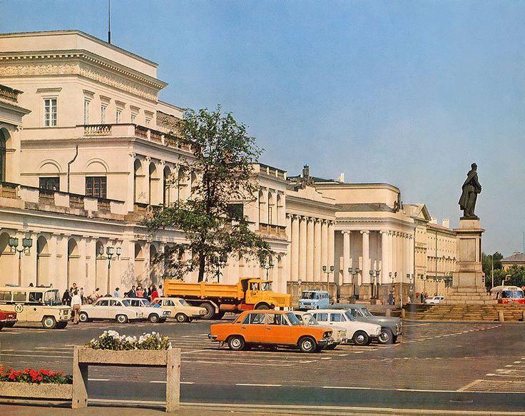 Warszawa - 70. XX w.