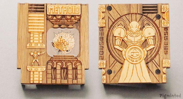 Artist Made Wooden NES Cartridges That Hide An Amazing Secret!