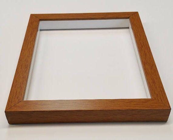 Shadowbox Gallery Wood Frame Honey Pecan 4x6 5x7 6x6 8x8 8x10 11x14 12x12 16x20 20x24 24x3 Wood Picture Frames Wood Shadow Box Shadow Box