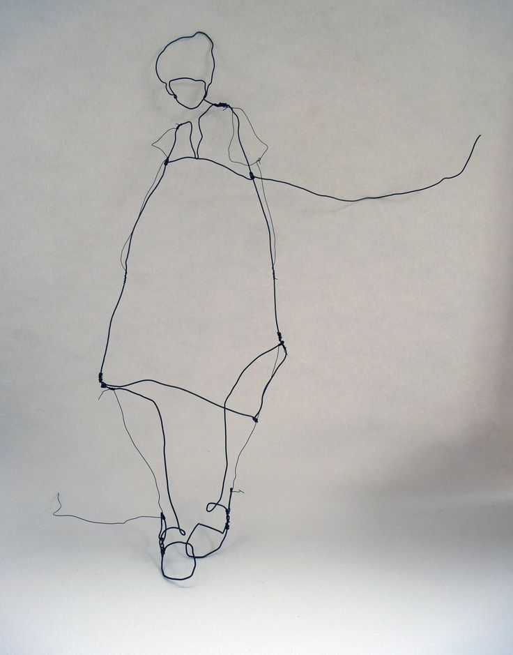 Julia Jowlett wirework More