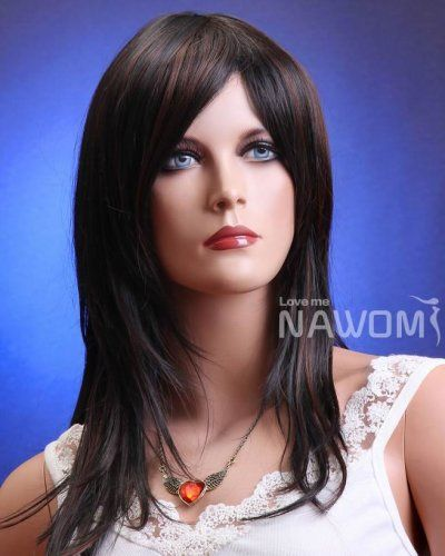 Full Cap Women Medium Black Wig ZL172-2H30 - $23.00 : wigs outlet