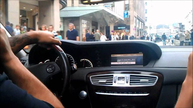 Mercedes CL 63 AMG Ride, Burnout & REVs in Hamburg