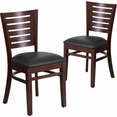 Home Wood Restaurant Chairs Upholstered Dining Chairs Dining
