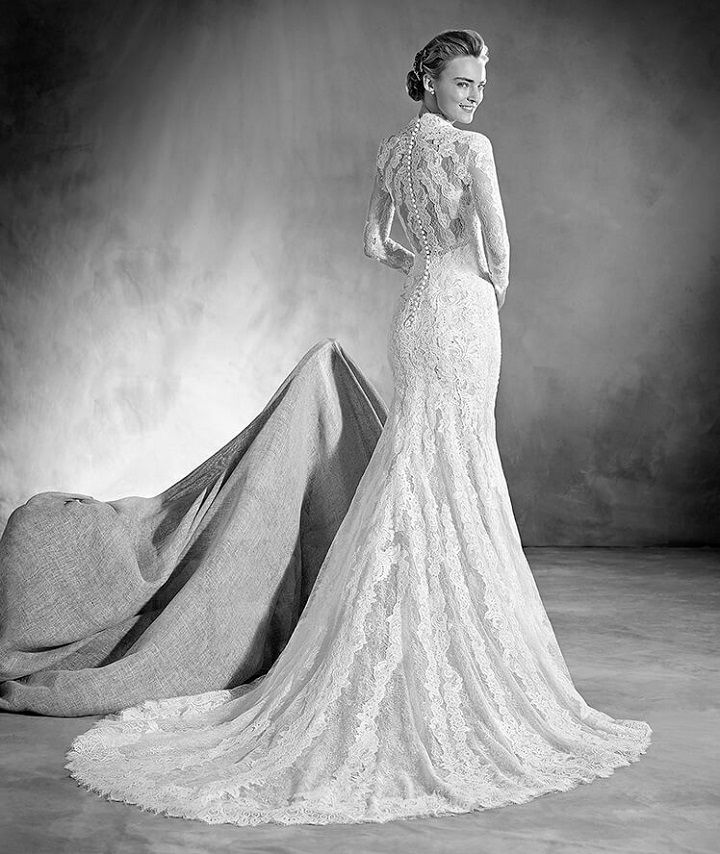 26 Mermaid wedding dresses with sleeves that suite every theme or bride's personality