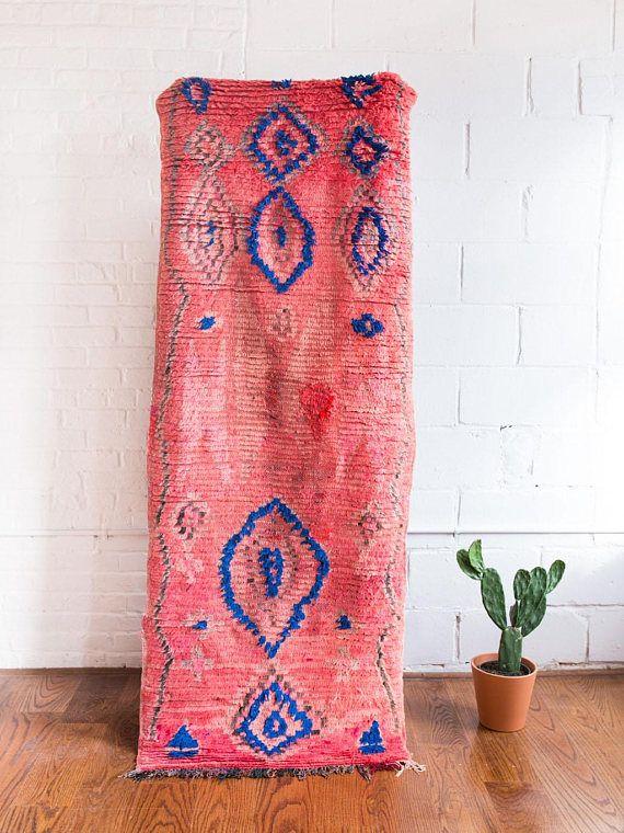 Traditionelle Geometrische Berber Motive Gewebt In Ganz Niedrige Stapel S Ist Ein Vintage Artikel Was Bedeutet Es Kann Leichte Verfärbungen