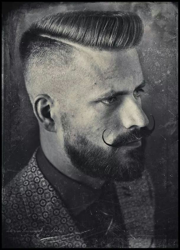 Haircut. Flat top/scumbag boogie cross over by Schorem