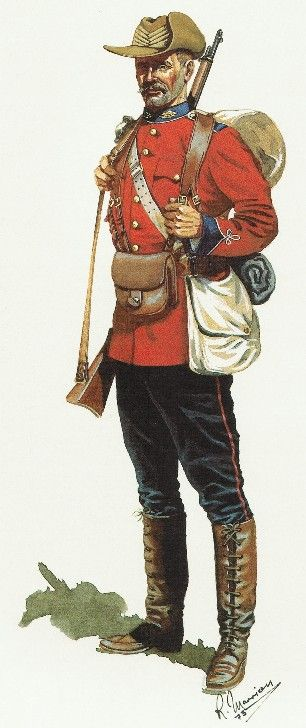 The Canadian Mounted Book | History and Uniform of the Royal Canadian Regiment, 1883 to 1970