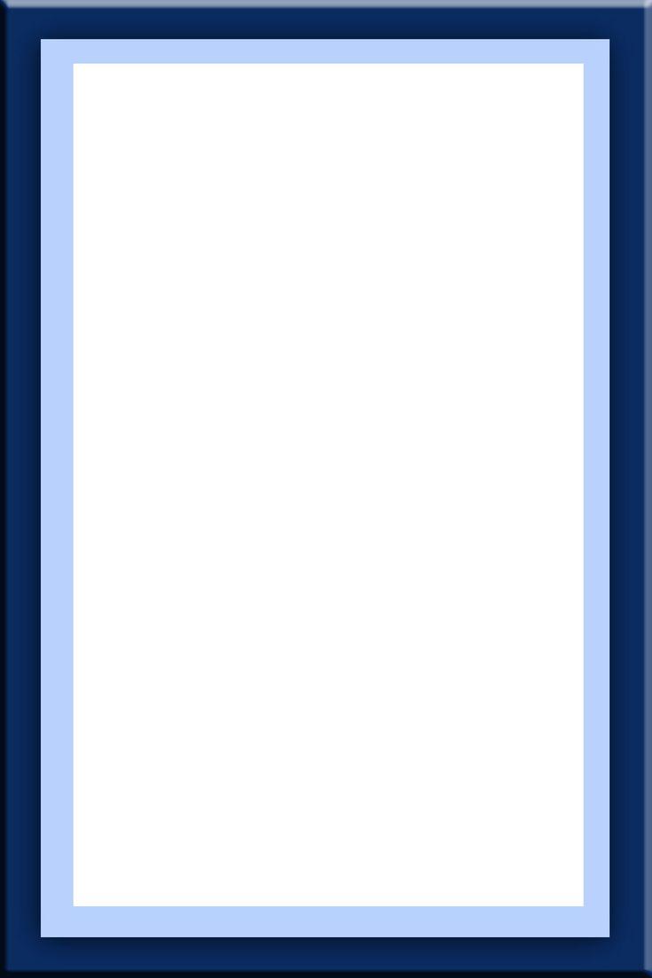 フレーム枠イラスト「ブルーサークル」 | Book Decorations | Lettering