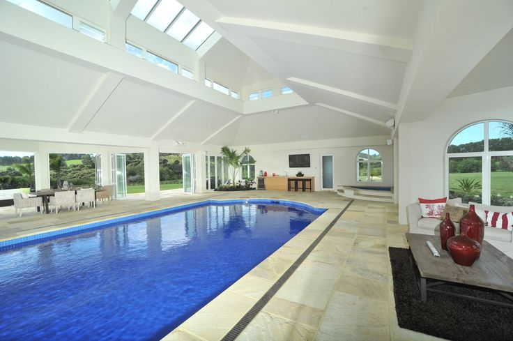 indoor swimming pool by Mayfair Pools
