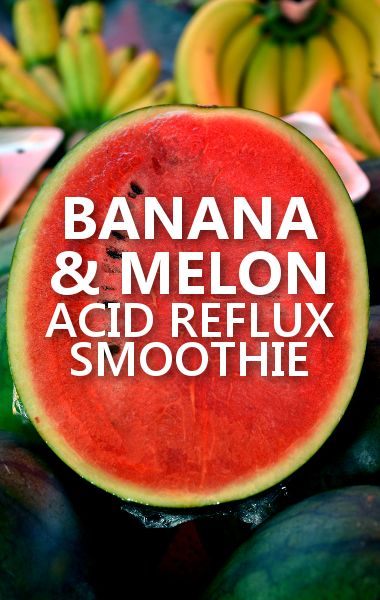 Dr Oz says his Banana Melon Ginger Smoothie will prevent and ease the symptoms of Acid Reflux. http://www.drozfans.com/dr-oz-womens-health-2/dr-oz-safe-earwax-removal-acid-reflux-smoothie-recipe/