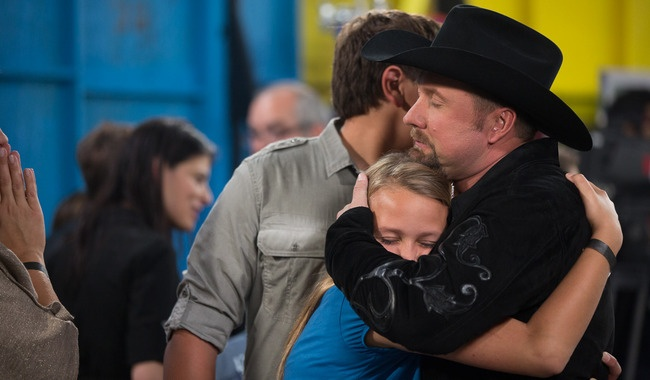 Tate Stevens and Family, love this man and really hope he wins X Factor!
