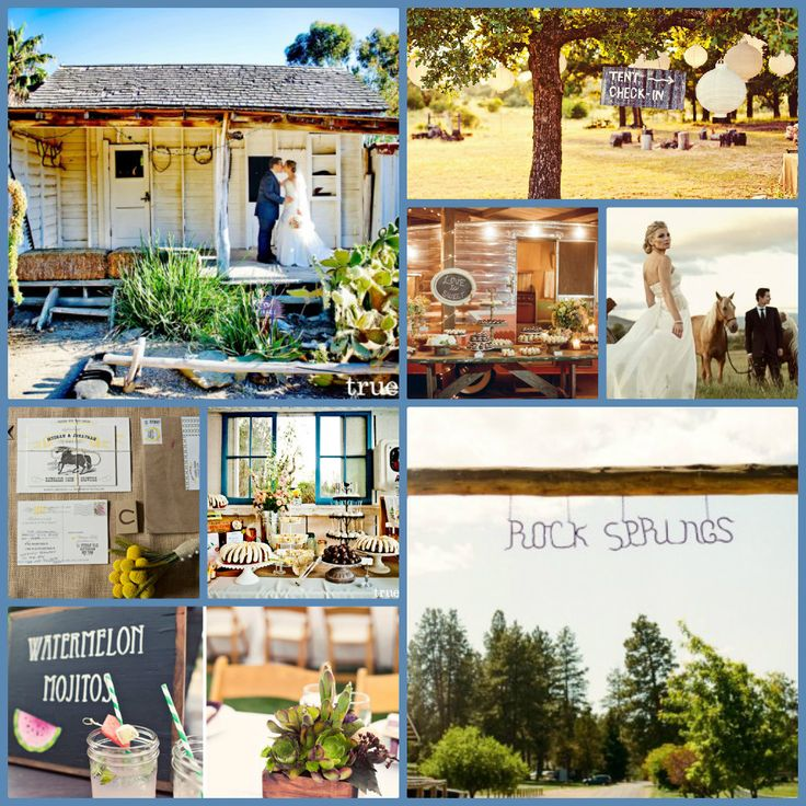 Ritzy ranch wedding styles. The Top 5 Green Wedding Trends for 2013. For chalkboard signs click here: http://www.greenbrideguide.com/wedding-shop/product/wood-slice-chalkboard-sign