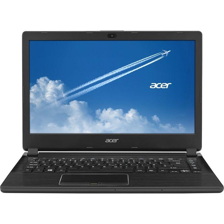 "Acer - TravelMate 14"" Refurbished Laptop - Intel Core i5 - 8GB Memory - 500GB Hard Drive - Black"
