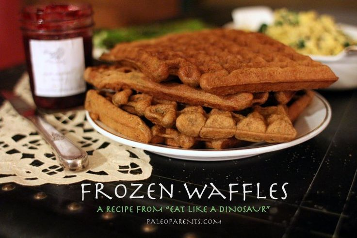 ELaD's Frozen Waffles and other Naturally Green St. Patrick's Day Recipes by @paleoparents #paleo